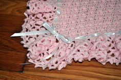 Crochet - Heartwarming Wrap  Pattern from The Best of Terry Kimbrough Baby Afghans