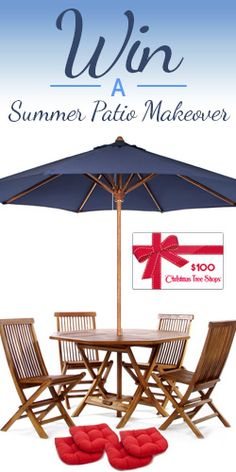Win a Summer Patio Makeover