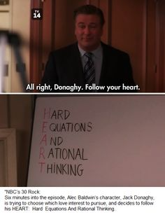 Thinking with your HEART.  /INTJ  /ENTJ  /INTP