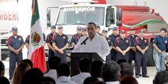 Periodismo sin Censura: INAUGURA EL GOBERNADOR LA ESTACIÓN DEL H. CUERPO D...
