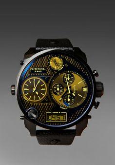 DIESEL DZ7127 SBA Watch in Black at Revolve Clothing - Free Shipping!