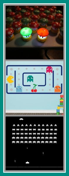 Introducing Your Child to the Retro-Gaming Aesthetic #gamer #PacMan #Mario #Raiden #kids