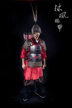Han Dynasty warrior in lamellar armour. Armourer: 蒼凝君 of 沐風國甲/紅雲軒