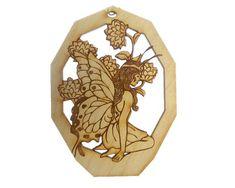 Personalized Fairy Ornament - Fairy Ornaments - Fairy Gift - Fairy Gifts - Fairy Decor - Fairy Art -