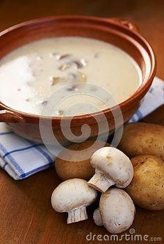 Polish Classic Cooking: Polish Mushroom-Potato Soup