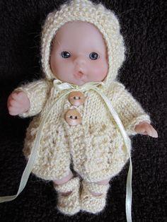 """Tricoté main tenue pour vêtements de poupées Berenguer 5"""""""
