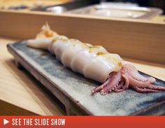 Head to the East Village's Kura for excellent sushi. 130 St. Mark's Place East Village 212-228-1010