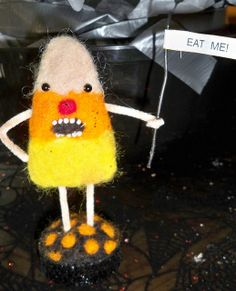 Angry Candy Corn | Flickr - Photo Sharing!