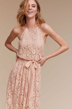 Alana Dress from @BHLDN I like the style of this matches Barn wedding... and cute dress that can be worn always
