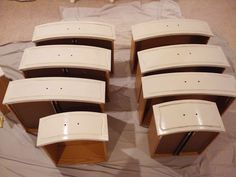 Great tips on painting an old dresser!
