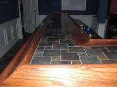 glass tile bar top | my work projects | pinterest | bar, basements