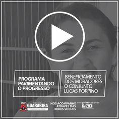 Pavimentando o Progresso: Beneficiamento dos Moradores do Conj. Lucas Porpino  #CompromissoComoFuturo #PavimentandooProgresso Confira o Video: http://youtu.be/S_doI4fP6qY