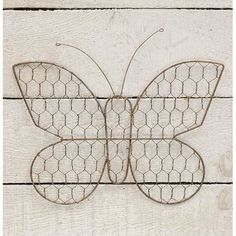 Chicken Wire Butterfly, 9inches