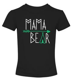 Mama Bear Women Ladies Gift t-shirt