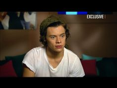 """Harry Styles Exclusive Interview - YouTube """"And I'd still be a baker."""" Haha"""