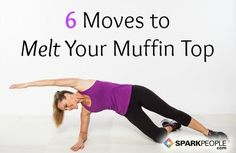 6 Moves for your Muffin Top