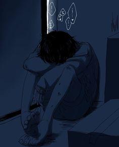 Anime Crying, Sad Anime, Anime Art, Aesthetic Art, Aesthetic Anime, Dark Art Illustrations, Vent Art, Japon Illustration, Arte Obscura