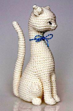 Princesa gata tejida en crochet