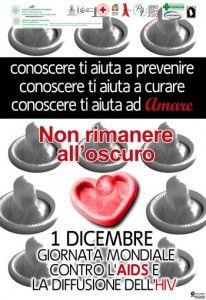 La Giornata Mondiale contro l'AIDS, istituita per la prima volta nel 1988 per volontà dell'O.M.S.(Organizzazione Mondiale della Sanità), viene celebrata il 1° Dicembre di ogni anno.    Le iniziative a Reggio e Provincia