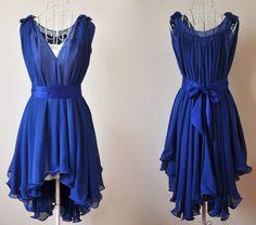 Tardis blue dress