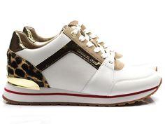 2e516297f7c Michael Kors Billie trainer sneaker - wit / combi