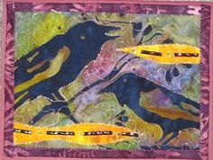 Previous Posts - On the Trail Creations Art Quilting, Quilting Ideas, Fabric Postcards, Art Cards, Small Art, Small Quilts, Mug Rugs, Wet Felting, Small Things