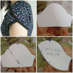 I think I want to make all my sleeves petal / tulip sleeve Sleeves Designs For Dresses, Sleeve Designs, Dress Sewing Patterns, Clothing Patterns, Blouse Patterns, Fashion Sewing, Diy Fashion, Sewing Tutorials, Sewing Projects