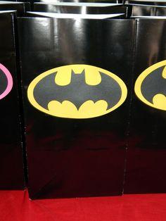 Batman Party Treat Sacks. $7.50/10, via Etsy.