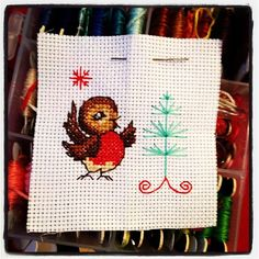 Ready to be patched onto a smelly cushion for a Christmas decoration. Zombie Santa next - I'm done with cuteness #crossstitch #stitch | Flickr – Condivisione di foto!