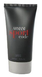 Giorgio Armani Armani Code Sport Shower Gel - 150ml/5oz by Giorgio Armani. $40.06. 150ml/5oz. Armani Code Sport. A delicately fragranced bath & shower gel for men Provides a gentle & thorough cleansing Indulges yourself into a luxury shower Enjoys a moment of relaxation & freshness Leaves skin refreshed & recharged Suitable for all skin typesProduct Line: Armani Code SportProduct Size: 150ml/5oz