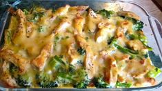 Serves:6 INGREDIENTS 3 boneless, skinless, chicken breasts, cooked and diced 2 packages (10 ounce) frozen broccoli cuts, cooked and drained 2 cans (10-3/4 ounce) 98% fat-free cream of chicken soup ¾ cup non-fat evaporated milk 1 teaspoon lemon juice 1 cup reduced fat shredded cheddar cheese ½ cu…