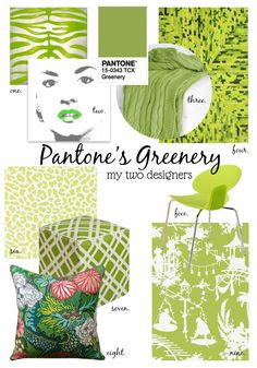 how-to-use-pantone-greenery-in-your-interiors