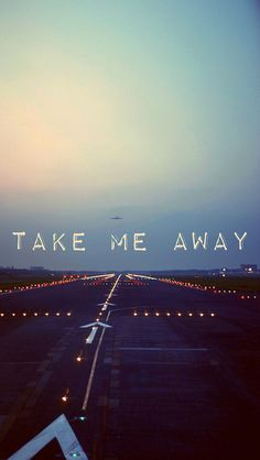 Take me away - iPhone wallpaper @mobile9 | #text #font #quotes