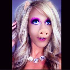 pig makeup - Google Search