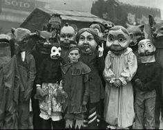 Halloween 1930's. The stuff of nightmares.