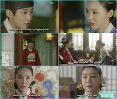 byung yun threaten her aunt about the new born baby and premiere kim listen to it - Love In The Moonlight - Episode 17 Review (Eng Sub)