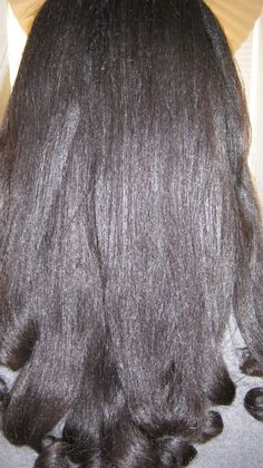 growing relaxed hair | SHEANITPRO You hair is thick,healthy & absolutely GORGEOUS...Leave ...