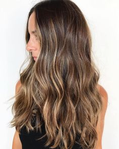 20 Light Brown Hair Looks and Ideas Long Brown Hair with Caramel Blonde Highlights Brown Hair Cuts, Brown Hair Looks, Brown Hair Shades, Long Brown Hair, Light Brown Hair, Brown Hair Blue Eyes Pale Skin, Natural Brown Hair, Brown Brown, Green Eyes