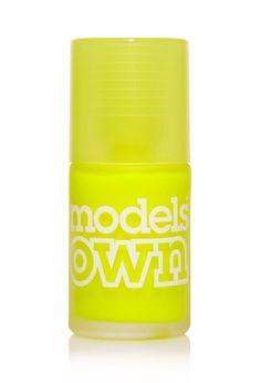 Electric Lemon Neon Nail Polish #ModelsOwn #F21Cosmetics
