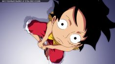 Can we just admire this angle of Luffy with his hair billowing in the wind?