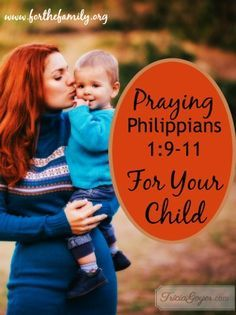 As parents it's important to pray for our kids, and God has given us His Word as a foundation to do just that! Here is a blueprint to pray each day of the week and see God move in our families!