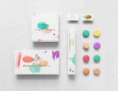 Bonnard macaron packaging design by Anagrama