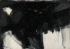 vichywater:  Shenandoah by Franz Kline (1956)