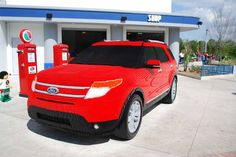 The incredible Ford Explorer (LEGO style) - Orlandoescape #legoland