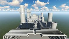 3D Oil Refinery Industry