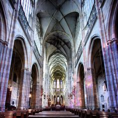 Inside Cathedral @ Czech