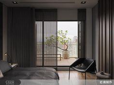 讓空間如墨色渲染,滲透生活-近境制作-唐忠漢