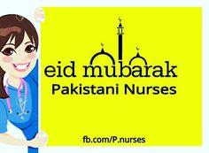 #EidMubarak #Pakistani #Nurses