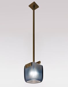 """ISLAND Cambridge Pendant CAMBRIDGE 4058 Height9"""" Width8"""" Depth8"""" Stem29"""" standard OAH38"""" Ceiling Canopy4 3/4"""" square Weightapprox. 20 lbs. Wiringsingle medium-base socket, 60 watt max. Recommended Bulb60 watt edison style 'squirrel cage' bulb Noteall shades are hand-blown and will vary in size and thickness Frosted Glassfrosted finish will lighten color"""