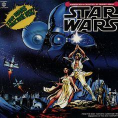 "Osamu Shoji ""Star Wars"" Warner Brothers Records  L-10109W 12"" LP Vinyl Record, Japanese Pressing (1978) #StarWars #Vinyl #VinylRecord"